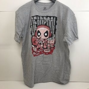 New Funko Pop Deadpool Chimichanga Truck T-shirt